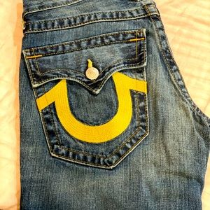 True Religion Men. boots cut size 28